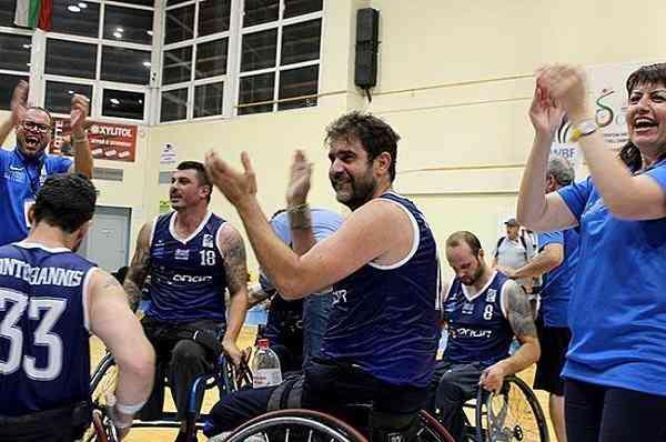 Η Ελλάδα πρωταθλήτρια Ευρώπης στο μπάσκετ με αμαξίδιο
