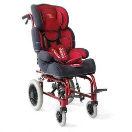 Παιδικό Αμαξίδιο περιπάτου για παιδιά µε µυοσκελετική αδυναµία με µηχανισµό ρύθµισης της κλίσης της πλάτης και της γωνίας του καθίσµατος.