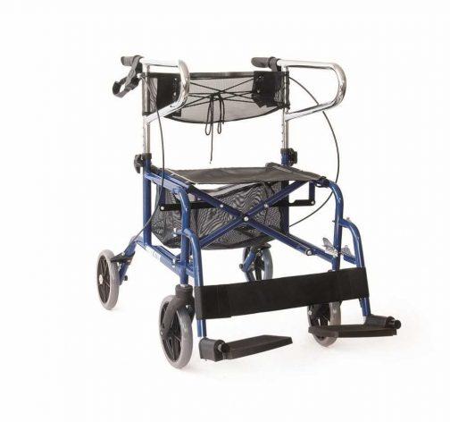 Περιπατητήρας Rollator με υποπόδια