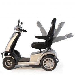 Βαρέως τύπου ηλεκτροκίνητο scooter