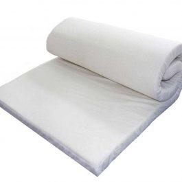 Στρώμα πολύσπαστο 10cm από αφρώδες ελαστικόυλικό,πυκνότητας 25kg/m³.